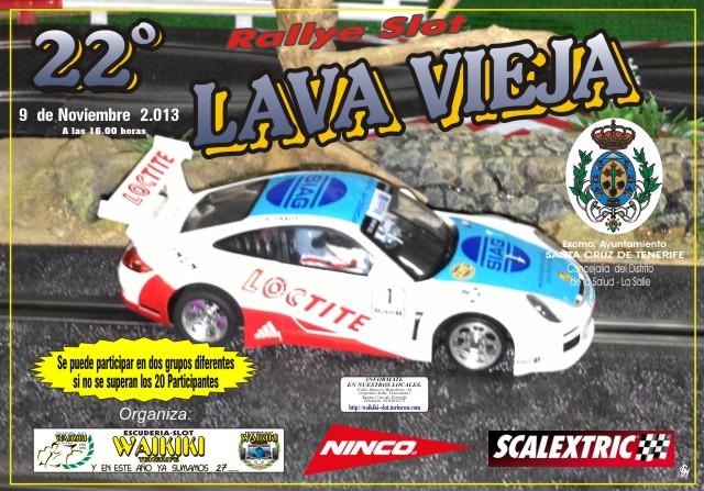 XXII Rallye Slot 1/32 Lava Vieja(9/11/2013)